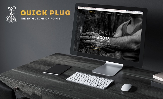 Nieuwe website Quick Plug | design by 2 Mèt